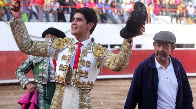 Oreja para Luis Manuel Castellanos en Caxuxi