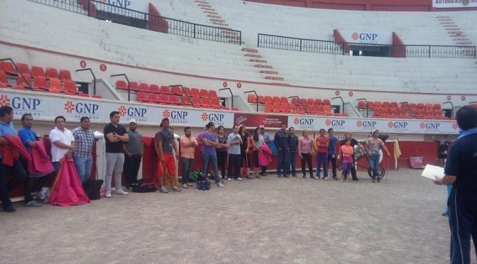 Arranca curso de verano taurino en Aguascalientes