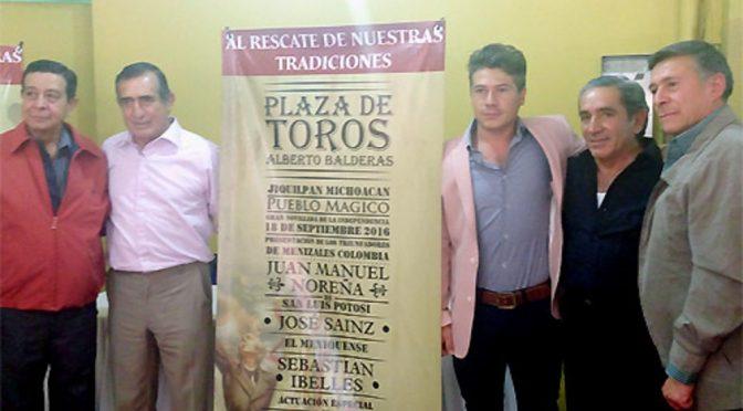 Anuncian actividad taurina en Jiquilpan