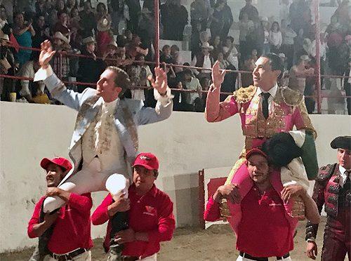 Zotoluco y Gárate, a hombros en Nochistlán