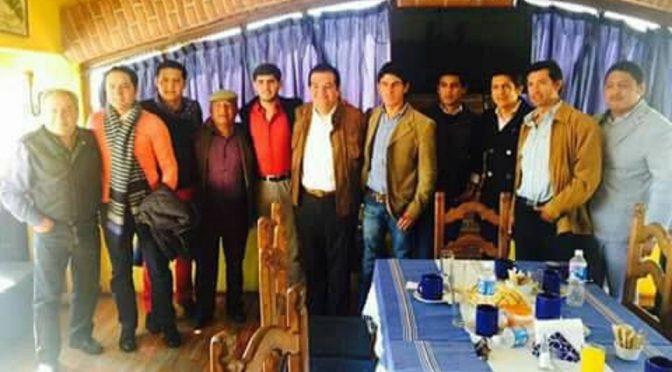 Se reúnen matadores con el edil de Huamantla