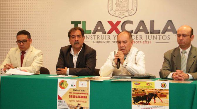 Habrá jornadas de cirugía taurina en Tlaxcala