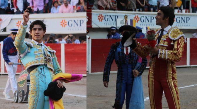 Perera y Luis Davis pasean orejas en Aguascalientes
