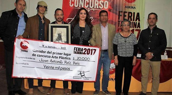 Juan Antonio Ruíz, gana el Concurso Nacional de Arte Taurino