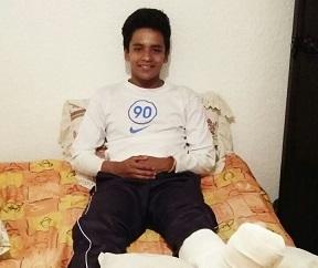 Sebastián Soriano al menos un mes inactivo