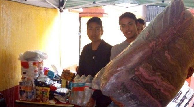 Se solidarizan taurinos de Tlaxcala con damnificados