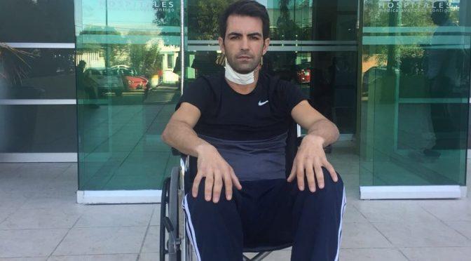 Arturo Macías recibió alta médica