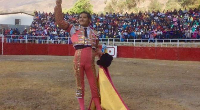 Angelino de Arriaga triunfa en Pariamarca, Perú