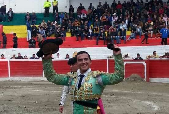 David Aguilar corta oreja y es lesionado en Ecuador