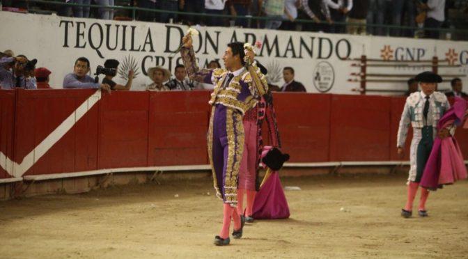 Sergio Flores, vuelta al ruedo en Guadalajara…(Fotos)