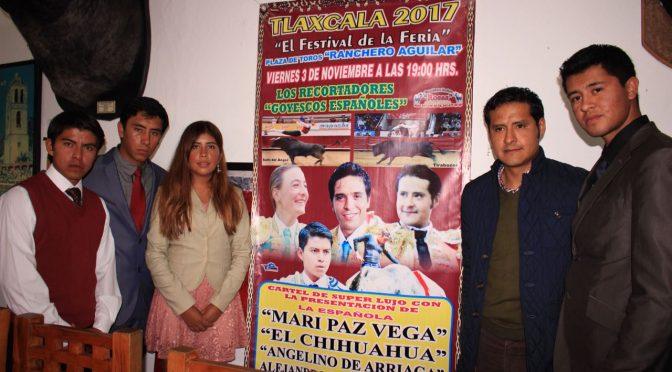Presentan Romería Taurina de Feria en Tlaxcala
