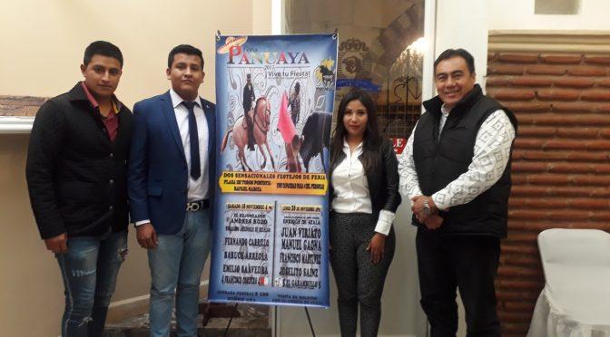 Presentan Dos novilladas para Panuaya Hidalgo