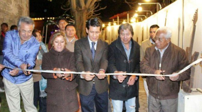 Se inaugura galería exterior en la Ranchero