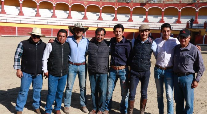 Cierran año con convivencia taurina en Tlaxcala…(Fotos)