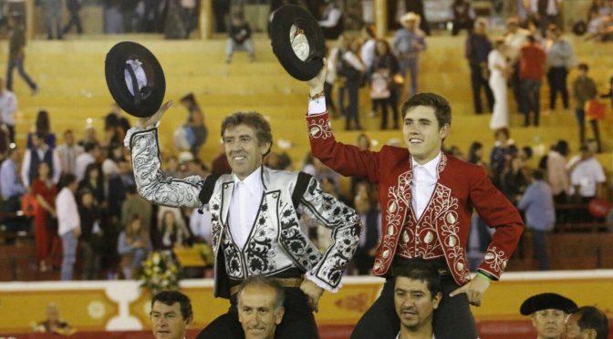 Los Hermoso de Mendoza a hombros en Jalos