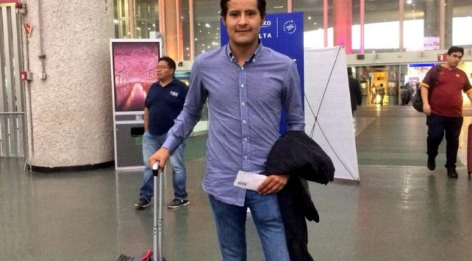 Angelino de Arriaga viaja a España para prepararse