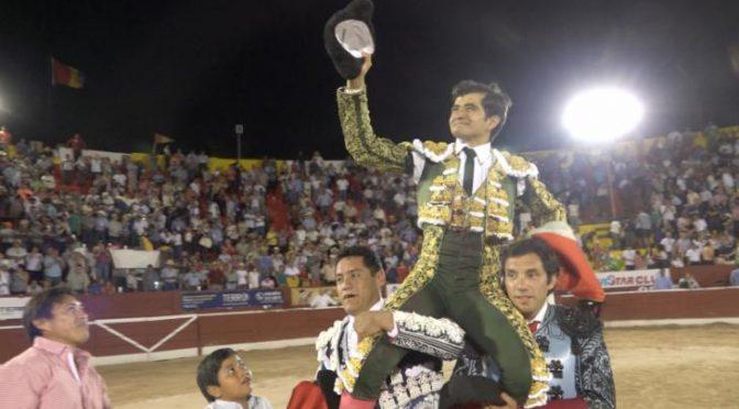 Joselito Adame, pleno en Mérida y obtiene cuatro trofeos