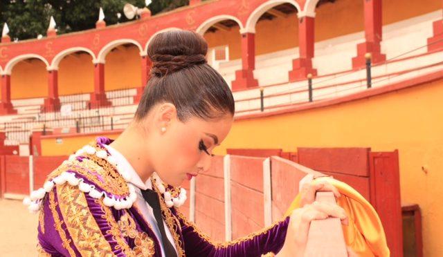 La tauromaquia es nuestra herencia: Tamara Esquivel