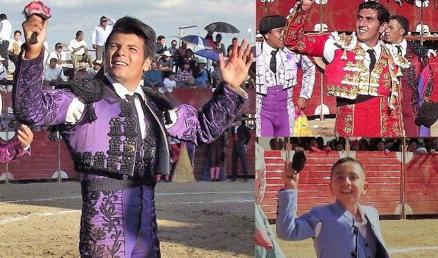 Fernando Carrillo y Manolo Astorga cortan oreja en San Bernardino…(Fotos)