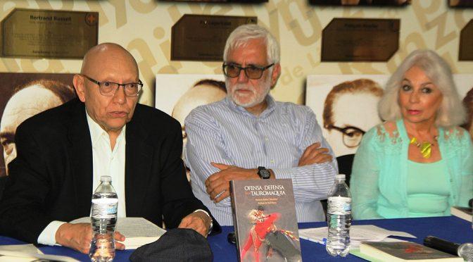 Presentaron libro de Horacio Reiba sobre tauromaquia