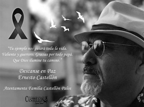Fallece Ernesto Castellón, fotógrafo taurino