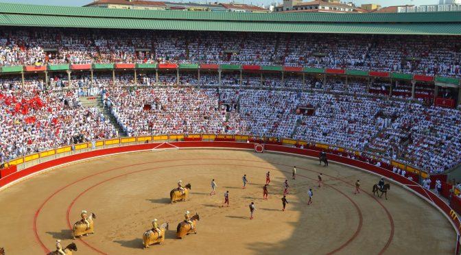 Todo listo para la tradicional Feria del Toro en Pamplona