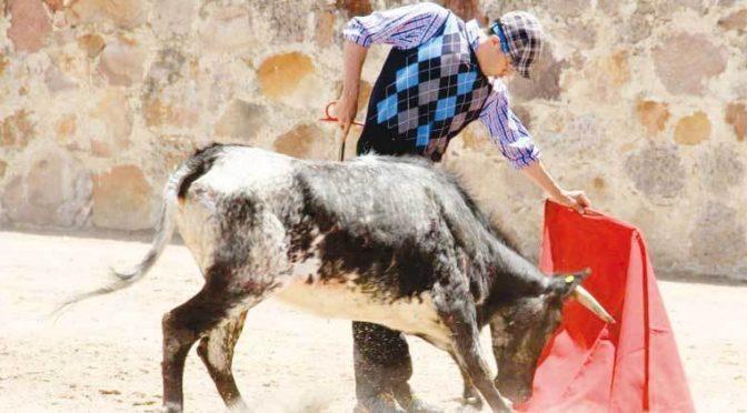 Juan Luis Silis se prepara en el campo bravo