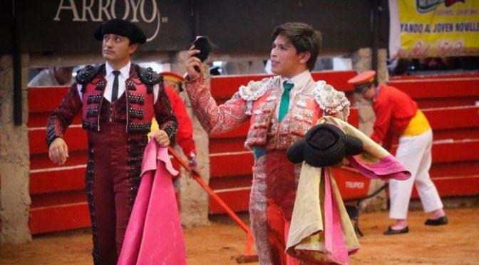 Triunfa Roberto Román en novillada de Arroyo…(Fotos)