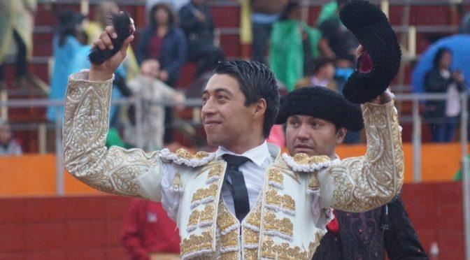 Sergio Flores corta la única oreja en Zempoala