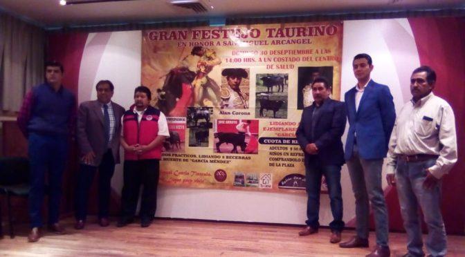 Anuncian festival taurino para San Miguel Contla