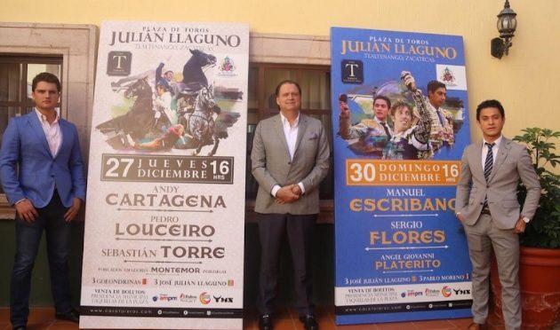 """""""UNA FERIA DE CORTE INTERNACIONAL PRESENTA CASA TOREROS EN TLALTENANGO, ZACATECAS"""""""