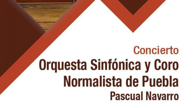 Invita ITDT a Concierto con la Orquesta Sinfónica y Coro Normalista de Puebla