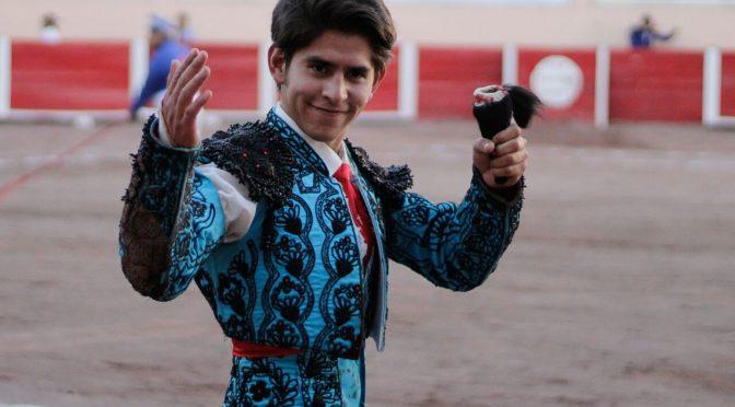 Juan Pedro Herrera corta oreja en Aguascalientes