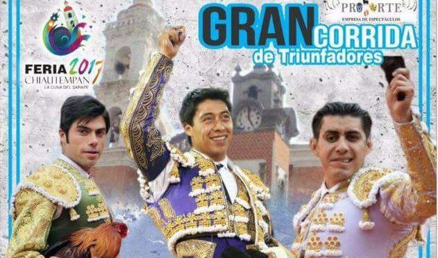 Sergio Flores con actividad y anunciado en Chiautempan