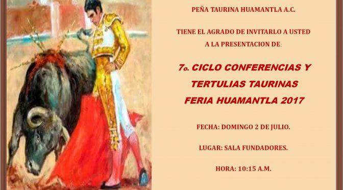 Alistan 7º serial de conferencias y tertulias en Huamantla
