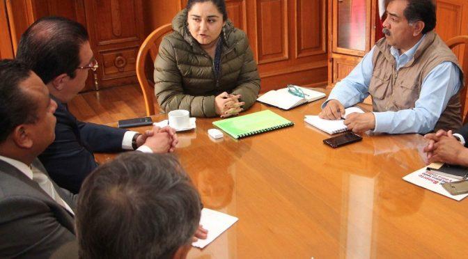 Coordinan esfuerzos estado- municipio para Huamantlada