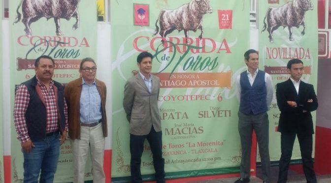 Anuncian serial taurino-cultural para Altzayanca…(Fotos)