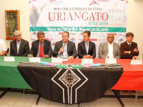 Dan a conocer cartel para corrida en Uriangato