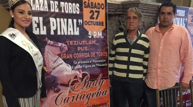 Cartagena, Zapata y Llaguno en Teziutlán