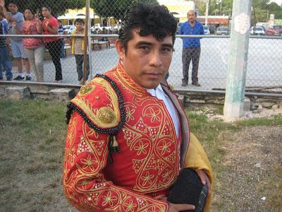"""""""El Chamaco Balam"""" se alista para torear en El Espinal"""